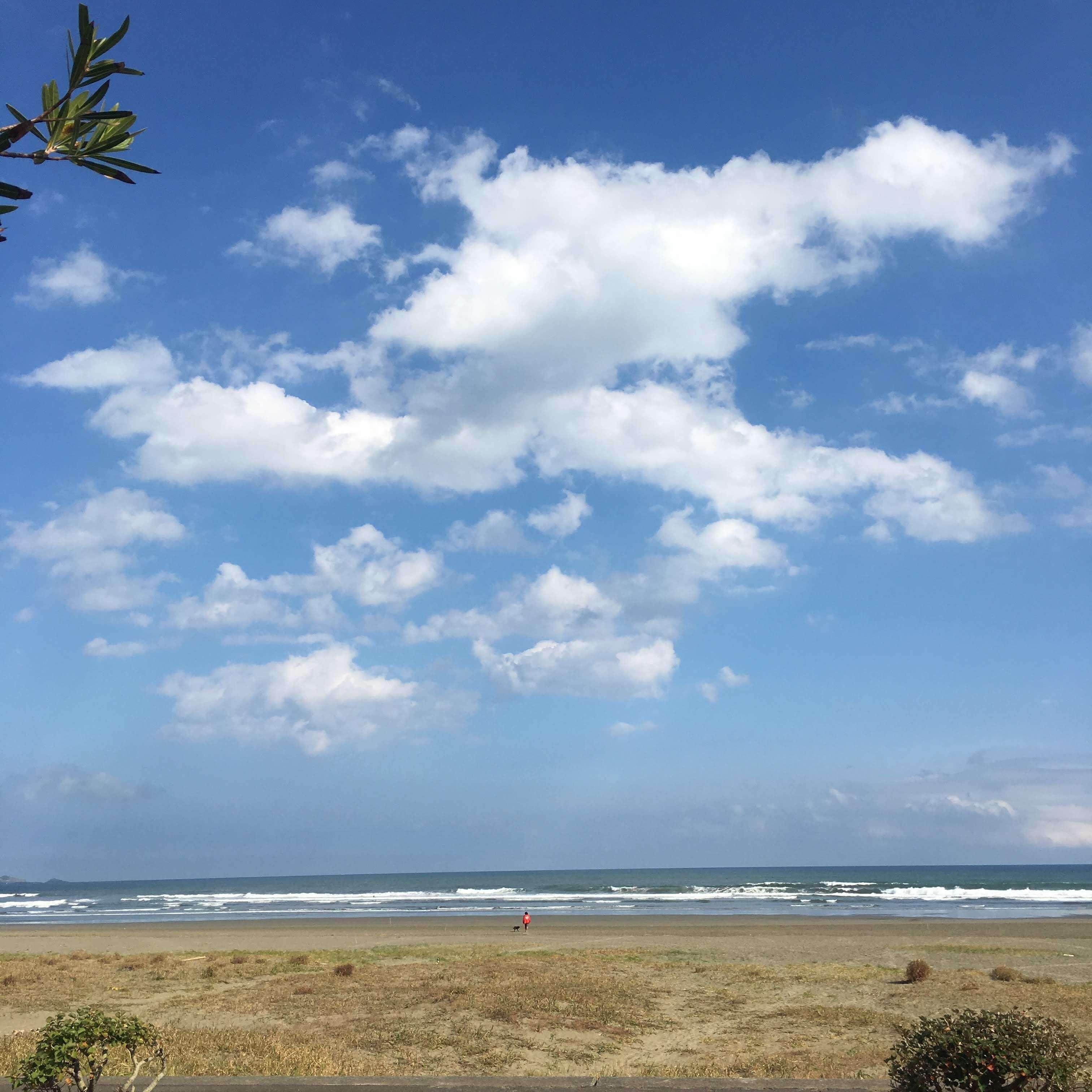 おくらが浜の空
