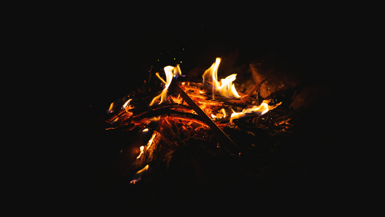 熾火の様子