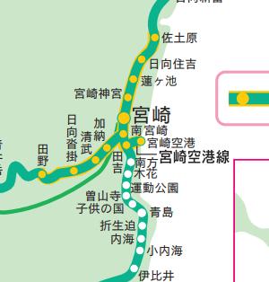 JR九州路線図