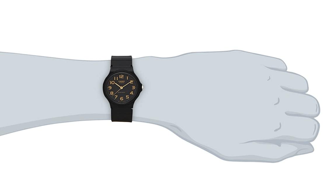 小さい方の時計